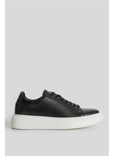 Lufian John Deri Casual Ayakkabı  Siyah